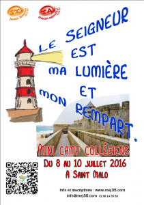 1ere page tract mini-camp 07-2016